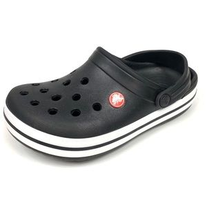 Kids Crocband Clogs Crocs Black J3
